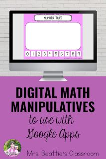 These 16 digital math manipulatives are the ideal companion to any math lesson, either in the classroom or at home during distance learning, and are designed for use on an iPad, Chromebook, or computer.Included are 16 digital Google Slides math manipulatives with movable pieces and suggestions for use, a complete instruction packet for using this digital resource with your students, and a detailed manual for uploading this resource to the top education apps!