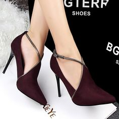 Item Type: Pumps Style: Fashion Heel Type: Thin Heels Heel Height: Super High (8cm-up) Brand Name: SexeMara Lining Material: Canvas Insole Material: PU With Platforms: Yes Closure Type: Buckle Strap T