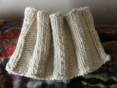 Basic Ribbed Cowl