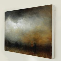 Iron Sky - Abstract Landscape by Kerr Ashmore - Global Art Traders - Find Art and Prints Online