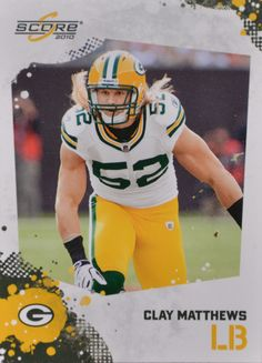 Green Bay Packers Clay Matthews, Football Cards, Green Bay Packers, Trading Cards, Football Helmets, Nfl, Clydesdale Horses, Outdoors, Sports