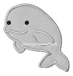 Whale 6 Applique Design / for purchase