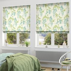Jemima Summer Roman Blind from Blinds Blinds For Windows, Curtains With Blinds, Valance Curtains, Window Blinds, White Roman Blinds, Rose Bedroom, Wood Pergola, Pergola Plans, Blinde