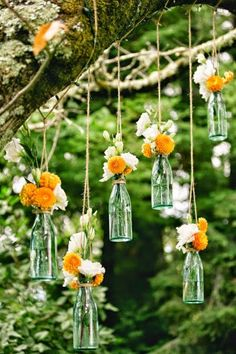 If we go for a Italian themed wedding I would love these hanging from the trees!