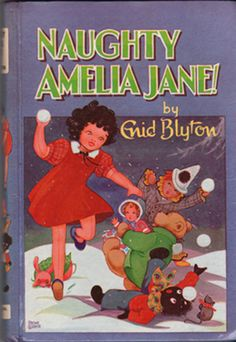 Naughty Amelia Jane! – Enid Blyton wow the memories, she was such a bad girl, but always loved these stories.