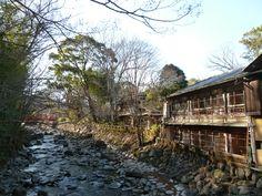 Shuzenji-Onsen(Terme), Izu Shizuoka Japan (Febbraio)