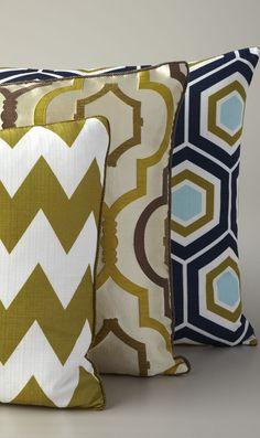 Geometric Pattern Pillows #home decor