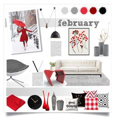 february by levai-magdolna on Polyvore featuring interior, interiors, interior design, home, home decor, interior decorating, Eichholtz, NOVICA, Garima Dhawan and Fürstenberg