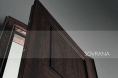 Introducing Sovrana: the new security door collection