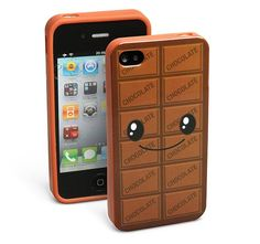 Yes, yummy... just because I'll buy it just to smell it *sniffs* lol --- Chocolate Scented Smart-Phone Case on http://www.random-good-stuff.com $14.99