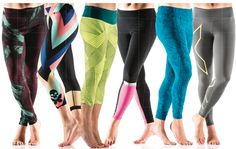 We welcome the trend of functional tights with a colorful twist.