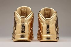 gold Air Jordan - Matthew Senna is an artist most celebrated by his bronze…