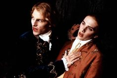Interview With The Vampire - Publicity still of Tom Cruise & Lee Emery. The image measures 1717 * 1152 pixels and was added on 17 August Movie Characters, Series Movies, Tv Series, Anne Rice Vampire Chronicles, Vampire Photo, Vampire Art, Lestat And Louis, Hot Vampires, Interview With The Vampire