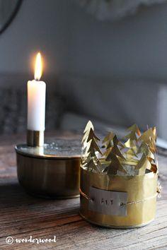 lysholder hack // brass candle holder hack