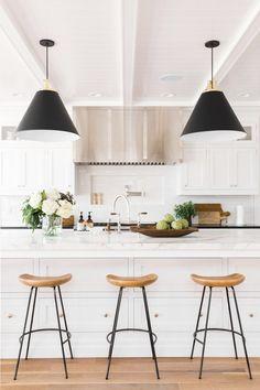 Kitchen Interior Design Remodeling Kitchen remodel by Studio McGee Home Decor Kitchen, Interior Design Kitchen, New Kitchen, Kitchen Dining, Room Kitchen, Kitchen Ideas, Kitchen Layout, Kitchen Cabinets, Kitchen Countertops