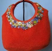 Felted Ring Top Tote - via @Craftsy