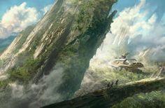 Felya (cover) by François Baranger | Sci-Fi | 2D | CGSociety