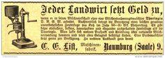 Original-Werbung/ Anzeige 1908 - MILCHENTRAHMUNGSMASCHINE THURINGIA / LIST NAUMBURG-  ca. 100 x 35 mm