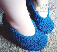Looking for your next project? You're going to love Simple Toddler Slippers by designer Tanya Naser.