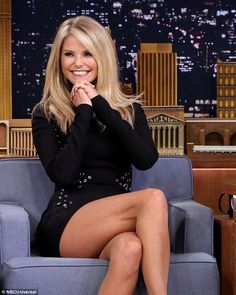 New role:Christie will soon star in show Donny, with Donny Deutsch where she plays 'two v...