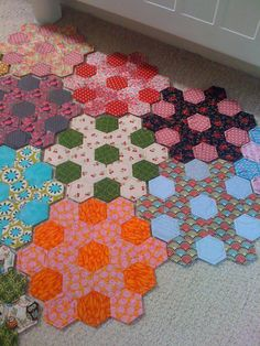 More hexies  Paperpieces.com