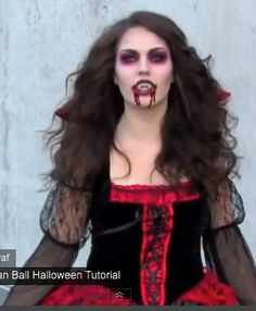 halloween diy vampire costume