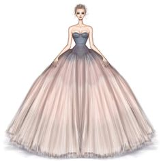 How to Draw a Fashionable Dress - Drawing On Demand Fashion Drawing Dresses, Fashion Illustration Dresses, Fashion Illustrations, Fashion Design Drawings, Fashion Sketches, Fashion Art, Fashion Models, Beautiful Dresses, Nice Dresses