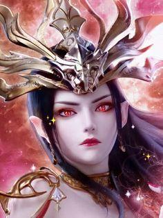 3d Fantasy, Chinese Art, Art Girl, Battle, Princess Zelda, Animation, Cartoon, Medusa, Cute