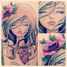 audrey kawasaki tattoo - Google Search