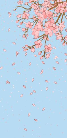 Pinkflowers cute wallpaper for phone, dark wallpaper, scree Wallpaper Keren, Iphone Background Wallpaper, Scenery Wallpaper, Pastel Wallpaper, Tumblr Wallpaper, Aesthetic Iphone Wallpaper, Aesthetic Wallpapers, Spring Wallpaper, Dark Wallpaper