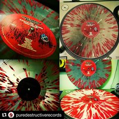 Check out my label design on this red splatter variant of @mark_fox_music's Texas Chainsaw Massacre The Shocking Truth Soundtrack!…