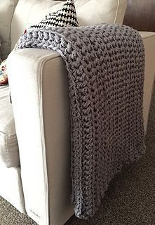 EASY BEGINNERS AFGHAN - free crochet pattern and video by Christine Rosen at iKNITS Website.