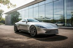 """Aston Martin DB10 from """"Spectre"""" Headed to Charity Auction. Exclusive supercar is expected to fetch more than $1 million."""