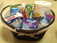 Housewarming baskets on pinterest housewarming gift Housewarming gift for guy
