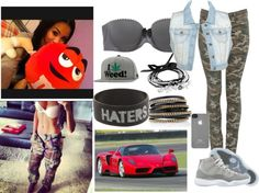 """""""- nicole"""" by ovo-dope-xo ❤ liked on Polyvore"""