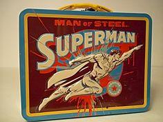 Superman, The Man Of Steel Metal Lunchbox