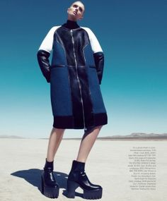 Lily Donaldson - Harpers Bazaar - June / July 2013 United States
