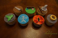 My Lord of the Rings Cupcakes