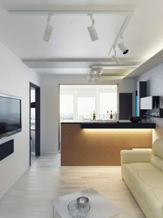 Attraktiv #wohnzimmer 30 Einrichtungsideen Für Wohnzimmer Mit Offener Küche #30  #Einrichtungsideen #für #