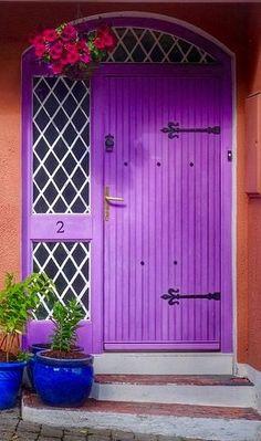 Purple door - Kilkenny, County Kilkenny, Ireland