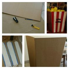 Diy giant popcorn box