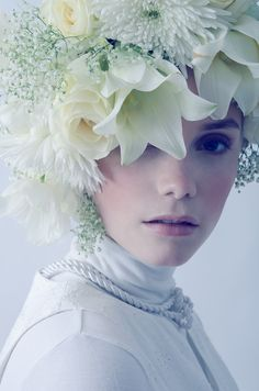 Easter Bonnets....Not a wall flower, an Easter bonnet... a chic but forgotten moment in time