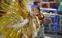 09 FEV 2013, Rio de Janeiro - Dani Vieira, rainha da bateria da Escola de Samba Renascer de Jacarepaguá.