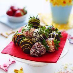 Easter strawberries recipe