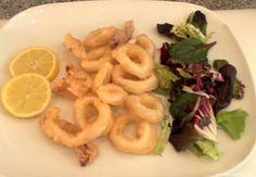 Calamares fritos a la Romana