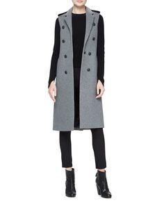 Rag & Bone Ashton Tailored Wool-Blend Vest | Neiman Marcus