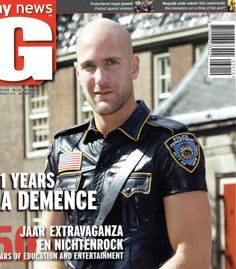 "Cover of <<Gay News>> a Dutch magazin about ... well let's say ""give it a guess ;-) ""."