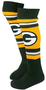 Green Bay Packers Knee-High Knit Slippers