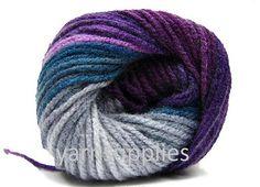 batik design yarn acrylic yarn knitting yarn Alize by yarnsupplies, $4.75