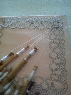 Ideas For Crafts Bobbin Lace Patterns, Tatting Patterns, Crochet Table Topper, Bobbin Lacemaking, Types Of Lace, Lace Heart, Tatting Lace, Needle Lace, Heirloom Sewing